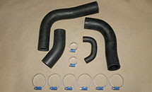FJ80 3F RADIATOR HOSE AND CLAMP KIT