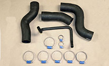 RADIATOR HOSE AND CLAMP KIT