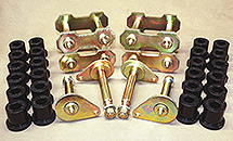 60 and 62 Series Land Cruiser Greaseable Shackle and pin Kits