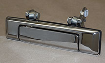 RIGHT OEM CHROME FRONT OUTER DOOR HANDLE