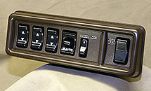 AFTERMARKET BROWN MASTER SWITCH