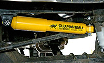 Old Man Emu Land Cruiser Steering Stabilizer