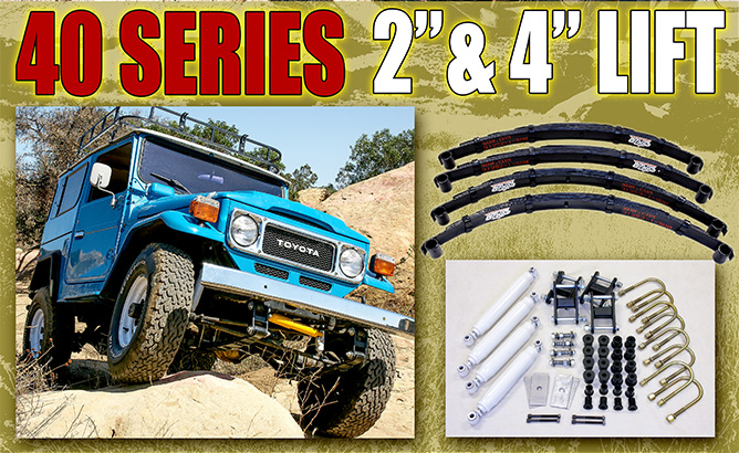Specter Off-Road FJ40 Lift Kits