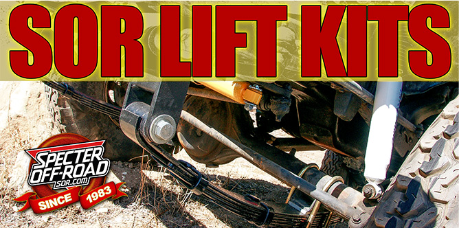 SOR Land Cruiser Lift Kits