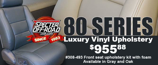 80 Series Luxury Vinyl Upholstery