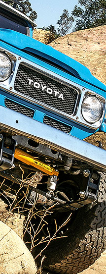 SOR Heavy Duty Land Cruiser Suspension