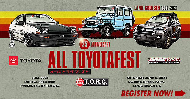 Toyota Owners and Restorers Club, All Toyotafest