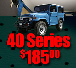 Back by popular demand FJ40 Land Cruiser Headliners