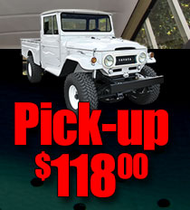 Back by popular demand FJ45 Pickup Land Cruiser Headliners