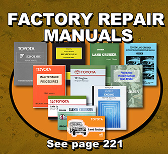 Land Cruiser Service Manuals