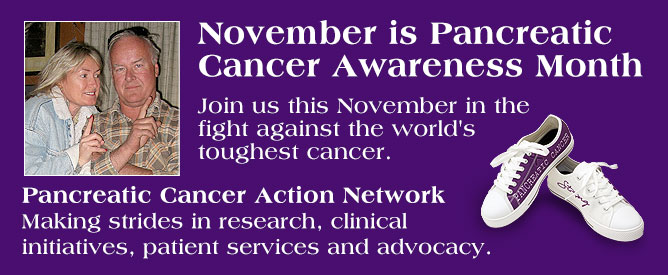 Visit the Pancreatic Action Network to learn more. Do it for Marv.