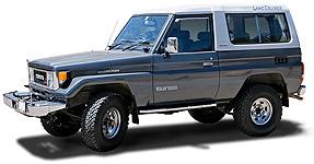 Land Cruiser 70 Series Doors