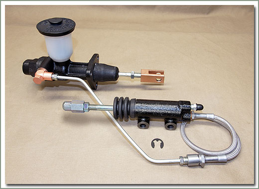 Land Cruiser Clutch Master and Slave Cylinder Components for