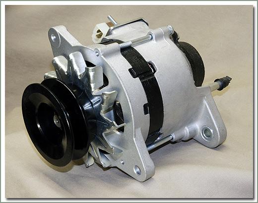 Land Cruiser Diesel Alternator  Regulator  U0026 Vacuum Pump