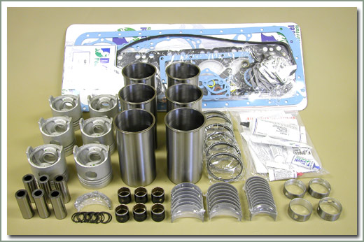 Land Cruiser Diesel Engine Components