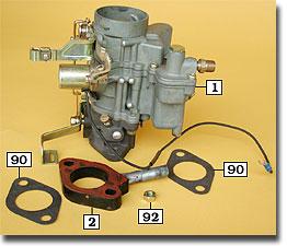 Land Cruiser Carburetors, Parts, Kits & Gaskets