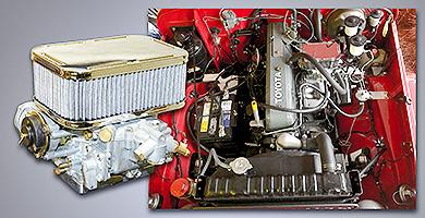 Land Cruiser Weber/EMPI Carburetors