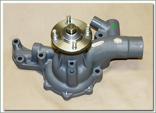 Diesel Land Cruiser Cooling System, BJ and HJ Models Water Pump, Fan
