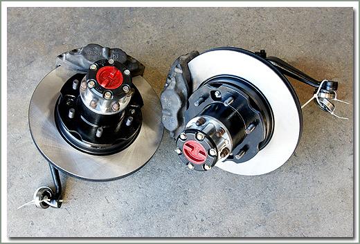 Land Cruiser Front Disc Brakes FJ40, FJ55, FJ60 & FJ62