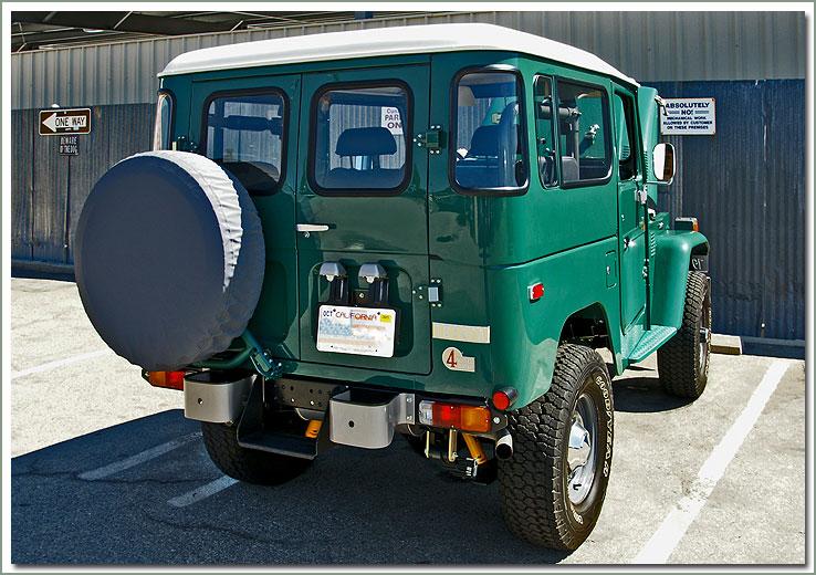 Land Cruiser Rear Ambulance Style Doors 1975 1984 40 Series