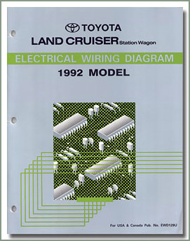 Page 223 Land Cruiser    Toyota    AC  Wiring Diagrams   Power