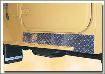 Page 238 Land Cruiser Aluminum Diamond Plate Running Board