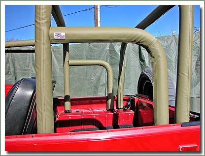 Page 244 Roll Bar Padding Kits