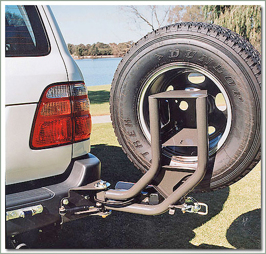 Page 255 Land Cruiser 100 Series Swing Out Tire Caddy