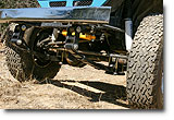 Close up view of Specter Off-Road 40 Series Lift Kit