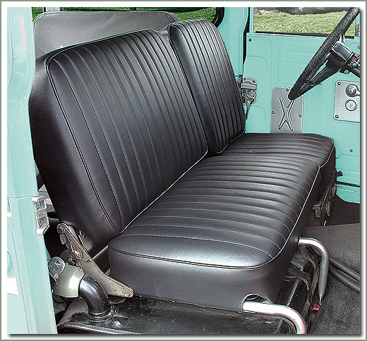 Page 310 Land Cruiser 40 Series Deluxe Seat Covers Amp Seat