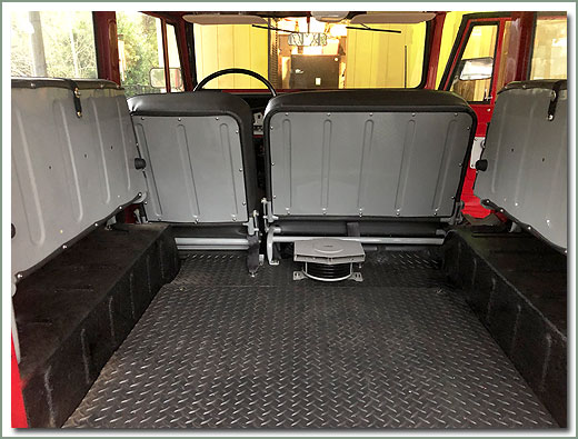Page 311 Land Cruiser 40 Series Rear Jump Seat Covers