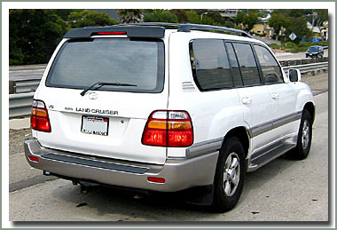 Page 320 Land Cruiser 100 Series Factory Rear Wind Deflector