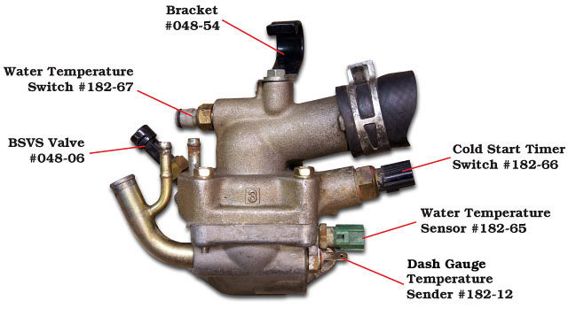 page 182 land cruiser switches relays sensors and flashers 8 3f engine thermostat housing switches