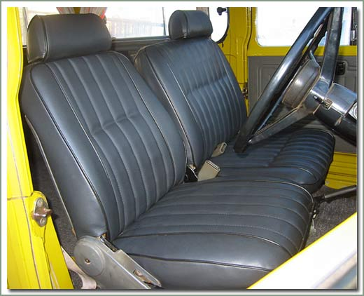 Page 310 Land Cruiser 45 Series Pickup Troopy Deluxe Seat Covers