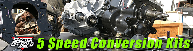 5 Speed Conversion Kit