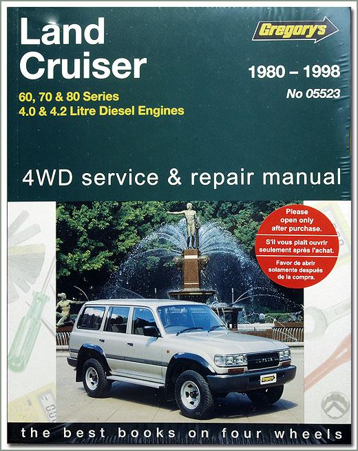 landcruiser 100 series workshop manual