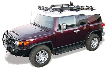 256 97 Fj Cruiser Wilderness Rack Shown Above Fully Deck Out Racks And Accessories Aftermarket Such As