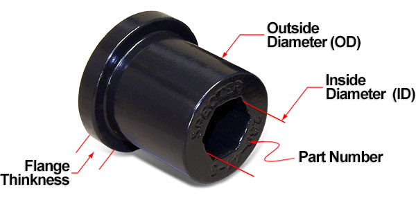 Page 289 Land Cruiser Polyurethane Bushings