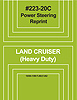 Land Cruiser Factory Service Manuals - Power Steering