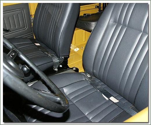 Page 305 Land Cruiser Seat Belts Factory