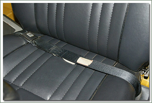 Page 305 Land Cruiser Seat Belts Factory