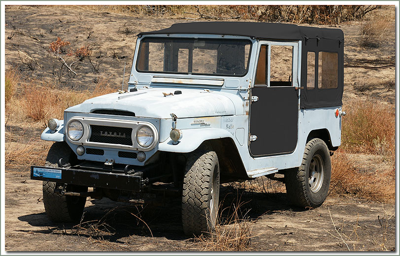 FJ40 Land Cruiser SOR Soft top - OEM Replacement Style
